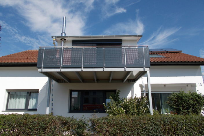 balkonanbau salach stahlbau n gele. Black Bedroom Furniture Sets. Home Design Ideas