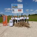 SF-Bau-Spatenstich Neubau Fertigungs- und Montagehalle-Schlüsselfertigbau