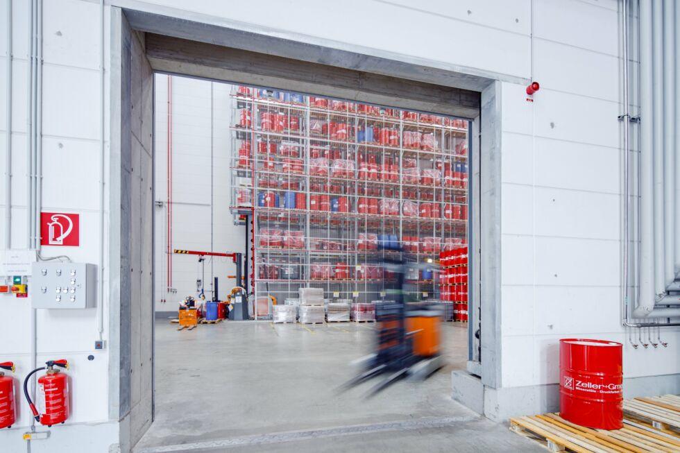 SF-Bau-Industriebau-Stahlbau-Neubau Hochregallager-Schlüsselfertig