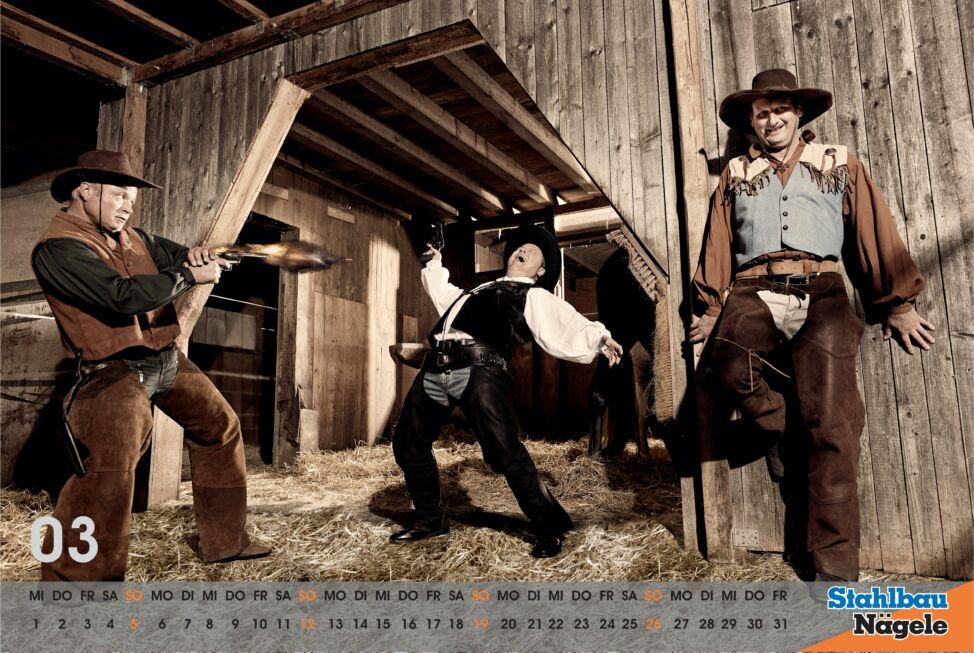 Stahlbau Nägele Kalender 2017-I shot the sheriff
