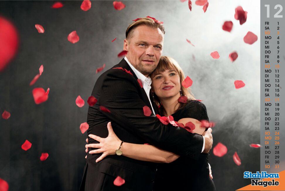 Stahlbau Nägele Kalender 2017-I will always love you