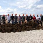SF-Bau-Spatenstich in Türkheim-Neubau Produktionshalle mit Sozialräumen-Stahlbau-Schlüsselfertigbau