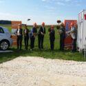 SF-Bau-Spatenstich-Böhmenkirch-Neubau Autohaus mit Ausstellungsraum-Stahlbau-Schlüsselfertigbau
