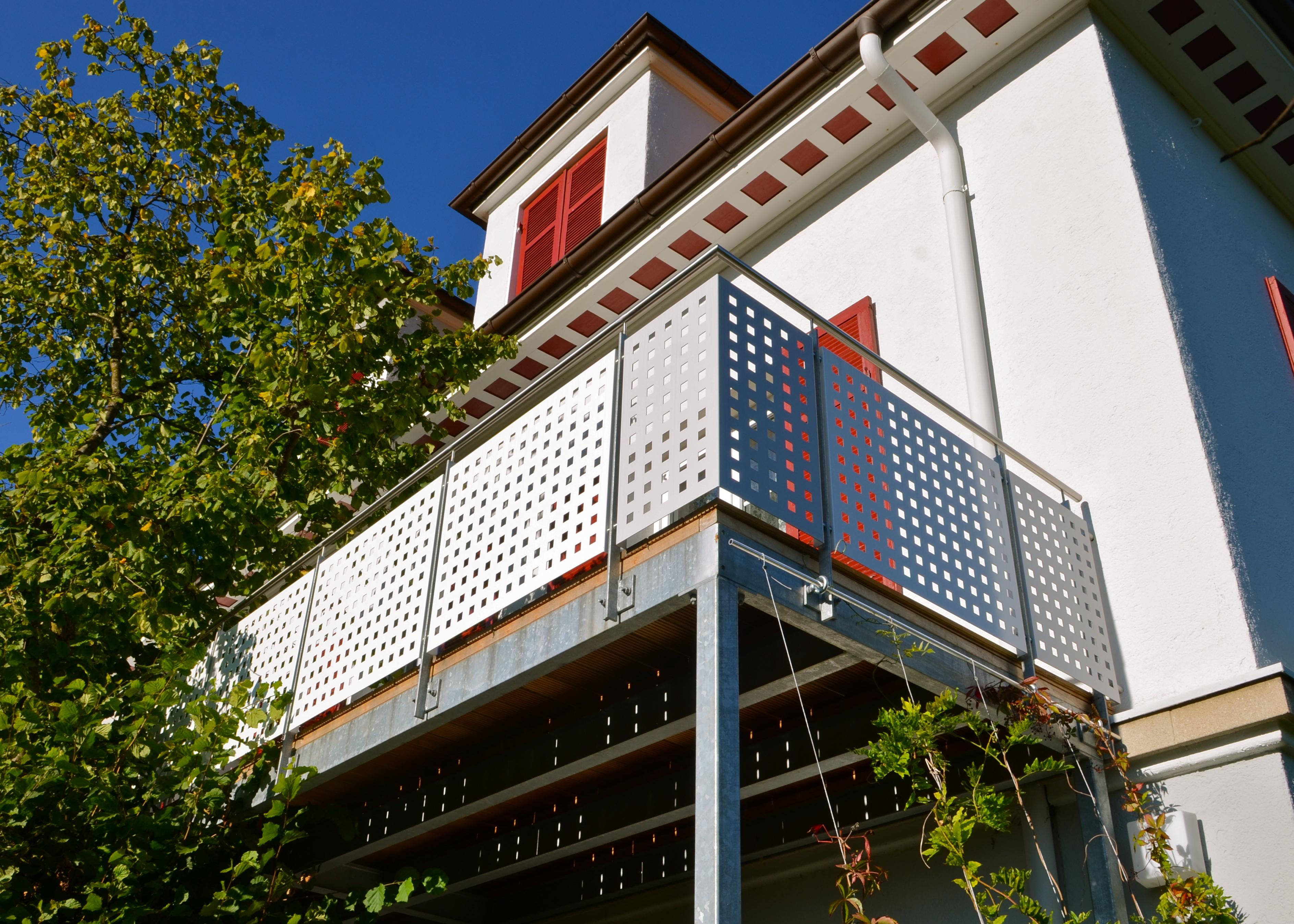 balkongel nder lorch stahlbau n gele. Black Bedroom Furniture Sets. Home Design Ideas