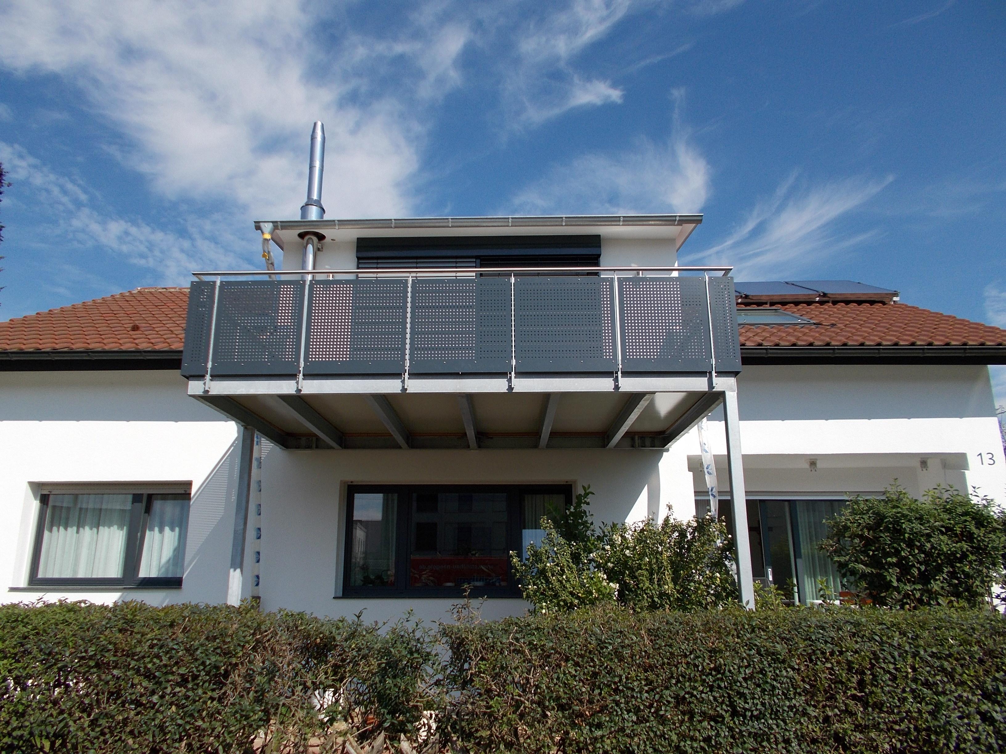 Balkonanbau Salach Stahlbau Nagele