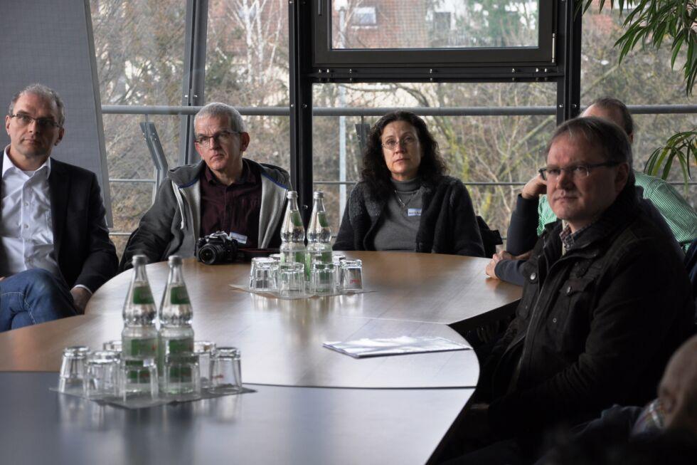 Berufsschullehrer aus Baden-Württemberg bei Stahlbau Nägele zu Besuch