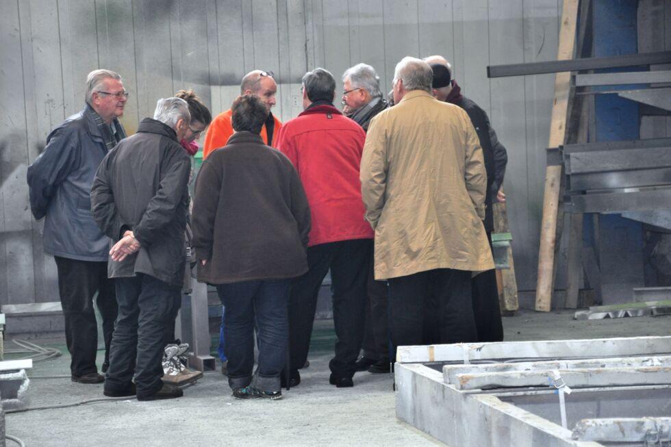 Betriebsbesichtigung - Stahlbau Nägele - VHS - Volkshochschule - Technikforum