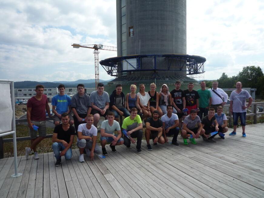 Stahlbau Nägele Azubi-Ausflug-Lochmühle Eigeltingen
