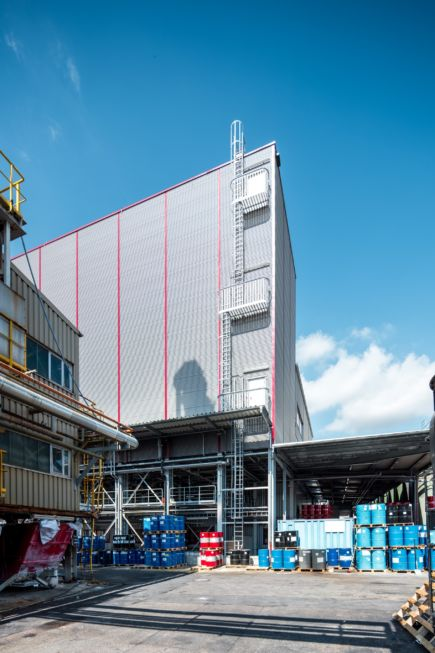 SF-Bau-Industriebau-Stahlbau-Neubau Tanklager-Schlüsselfertig