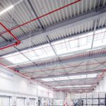 SF-Bau-Industriebau-Stahlbau-Neubau Versandhalle-Schlüsselfertig