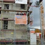 SF-Bau-Richtspruch-Richtfest in Donzdorf-Neubeu VerwaltungsgebäudeSF-Bau-Richtfest in Donzdorf-Neubeu Verwaltungsgebäude