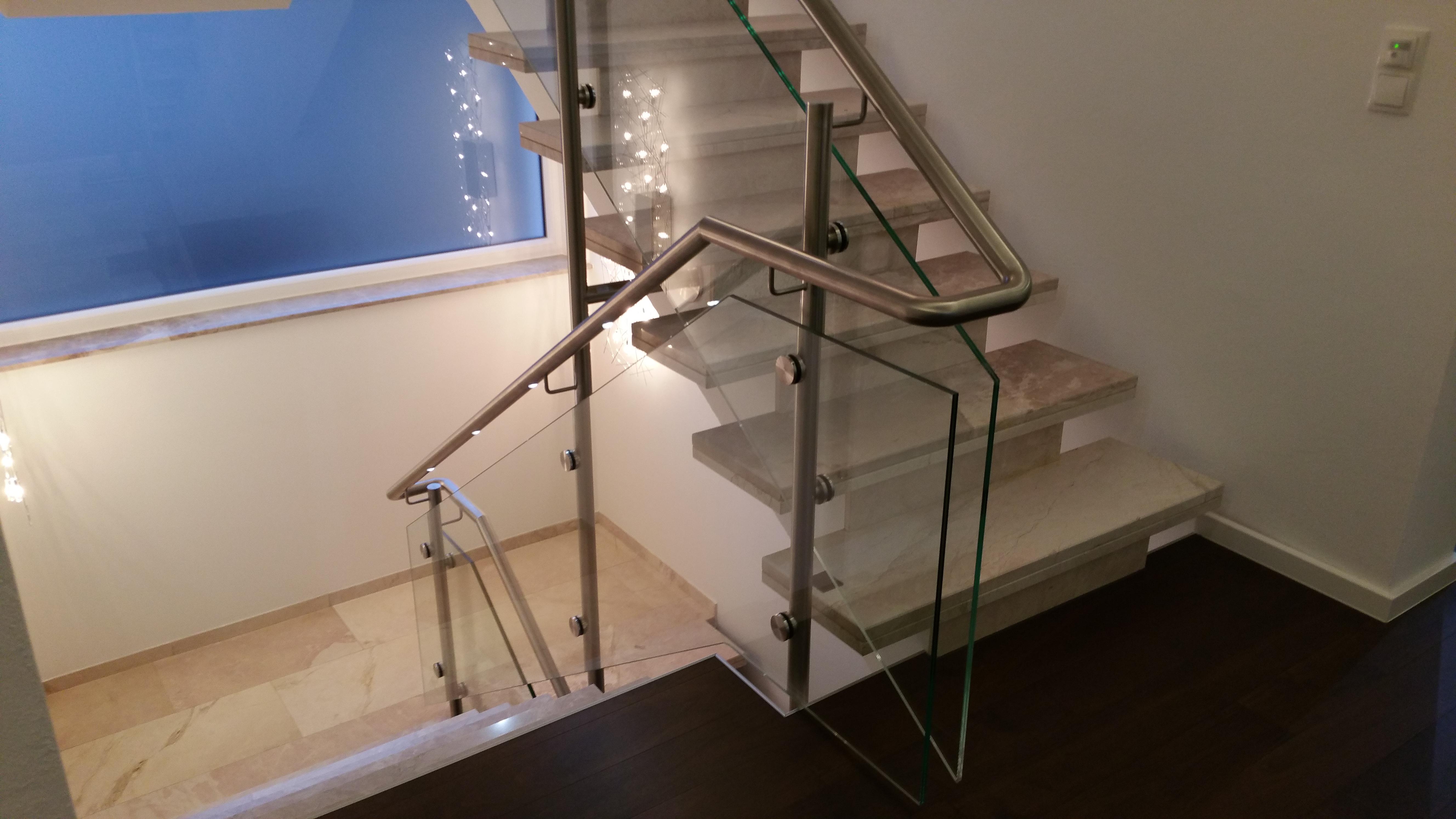 Beleuchtung Geländer | Schlosser und Metallbauarbeiten Br derlin 160079 1