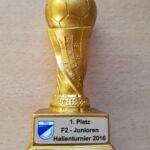 Pokal-Knirpse des 1. FC Rechberghausen holen sich den Turniersieg in Schlierbach