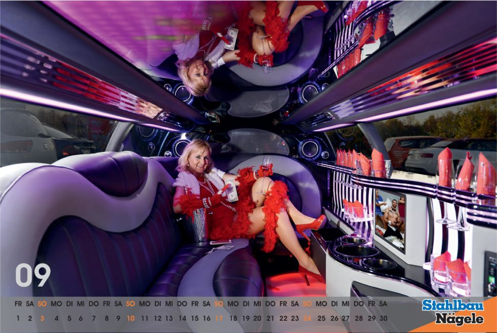 Stahlbau Nägele Kalender 2017-Material girl
