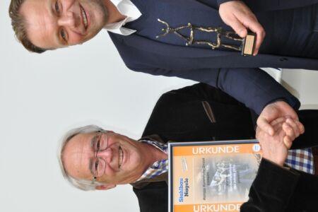 Verleihung Nachunternehmerpreis 2016-an Firma Rampp durch Stahlbau Nägele