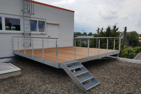 Beliebt Balkone | Stahlbau Nägele FW06