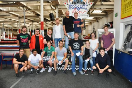 Azubi-Ausflug Stahlbau Nägele 3. / 4. Lehrjahr-Kart & Fun Neckarzentlingen