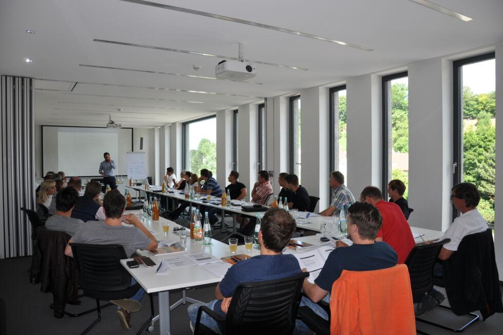 VOB Seminar Stahlbau Nägele Hotel Eilsinger Tor