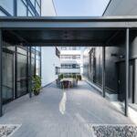 SF-Bau-Industriebau-Stahlbau-Neubau Büro mit Halle-Schlüsselfertigbau