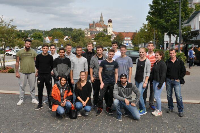 Azubi-Ausflug-1. + 2. Lehrjahr-Out & Back Sigmaringen