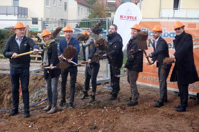 SF-Bau-Spatenstich-Remshalden-Neubau Autohaus mit Werkstatt und Ausstellungshalle-Stahlbau-Schlüsselfertigbau
