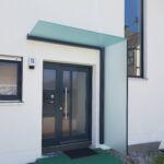 Schlosserarbeiten-Metallbauarbeiten-Vordach-Glasdach-Stahlbau-Schlosser- und Metallbauarbeiten