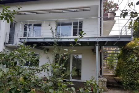 Schlosserarbeiten-Metallbauarbeiten-Balkonerweiterung-Balkon-Eislingen-Stahlbau-Schlosser- und Metallbauarbeiten