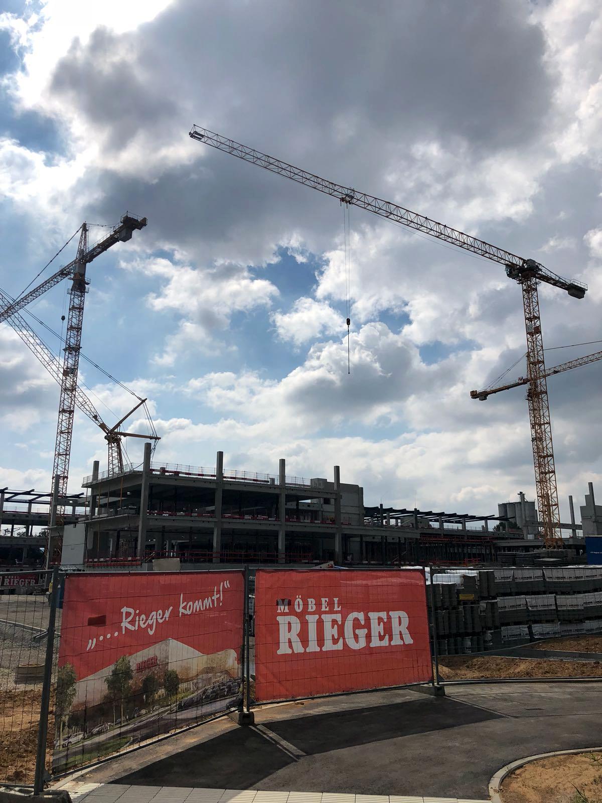 Richtfest In Heilbronn Stahlbau Nägele