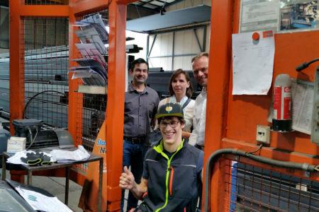 Stiftung Haus Lindenhof-Betriebsbesichtigung