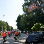 Tour de Kreisle-Zwischenstopp bei Stahlbau Nägele-Spende