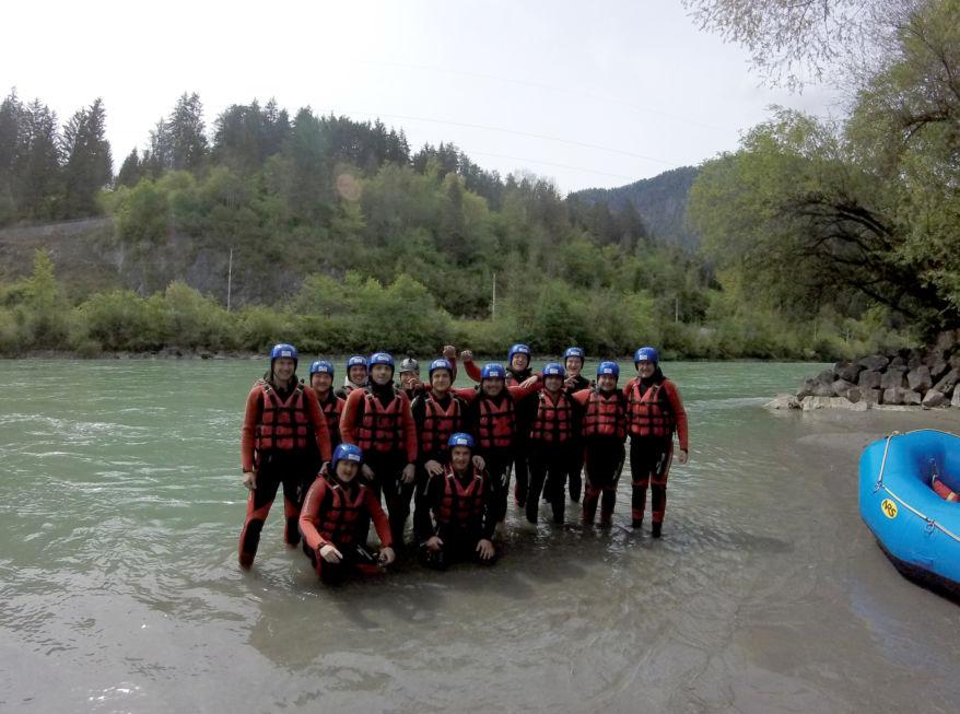 Stahlbau Nägele-Rafting Tour-Area 47