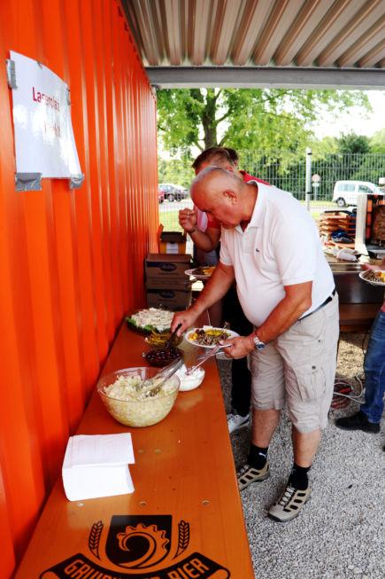 Stahlbau Nägele Sommerfest-Jubilarehrung