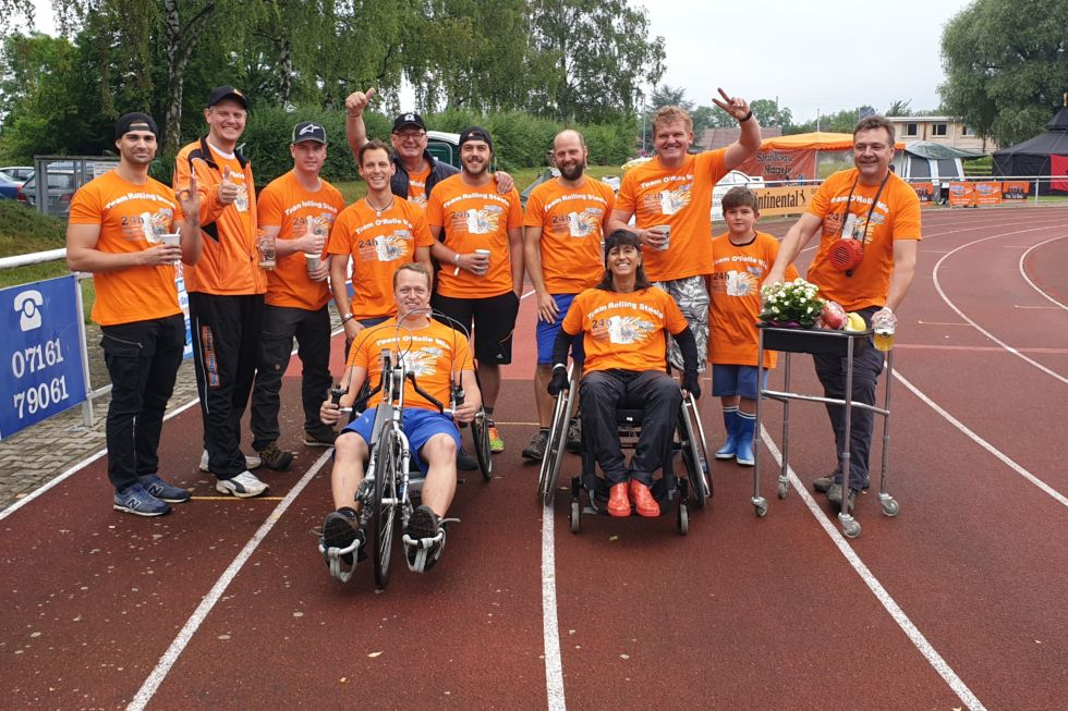 24 h Rollstuhlrennen-Stahlbau Nägele-Sponsoring-Ehrenamt