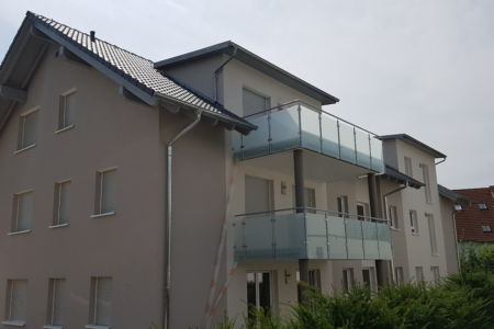 Schlosserarbeiten-Metallbauarbeiten-Balkongeländer-Balkon-Geländer-Stahlbau-Wäschenbeuren-Schlosser- und Metallbauarbeiten