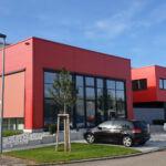 SF-Bau-Industriebau-Erweiterung Halle und Büro-Zell-Stahlbau-Schlüsselfertigbau