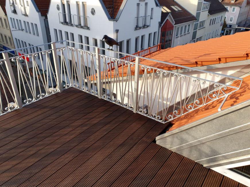 Schlosserarbeiten-Metallbauarbeiten-Terrassengeländer-Stahlbau-Göppingen-Schlosser- und Metallbauarbeiten