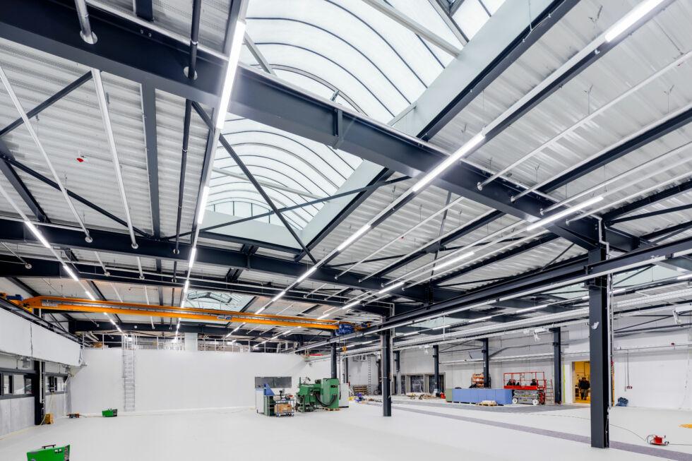 I-Bau-Abnahme und Urkundenübergabe-Göppingen-Neubau Halle-Stahlbau-Komplettbau-Industriebau