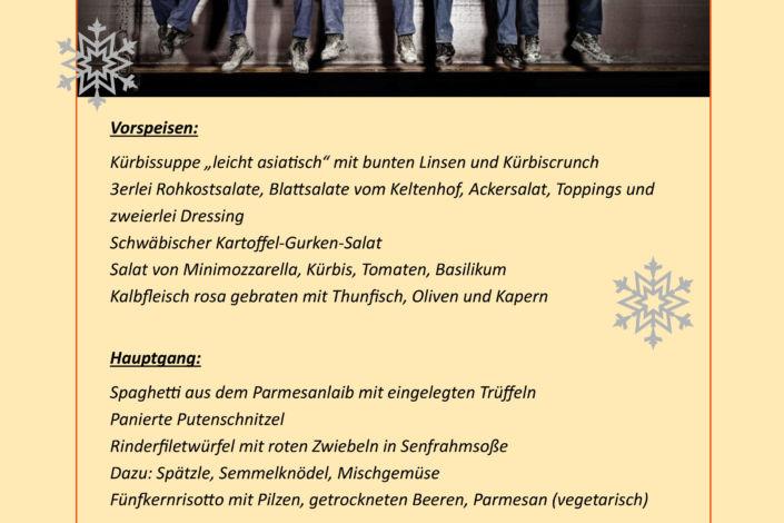 Stahlbau Nägele Weihnachtsessen-Burg Staufeneck