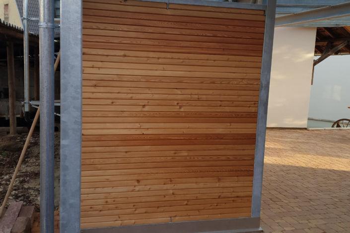 Schlosserarbeiten-Metallbauarbeiten-Carport-Stahlbau-Schlierbach-Schlosser- und Metallbauarbeiten