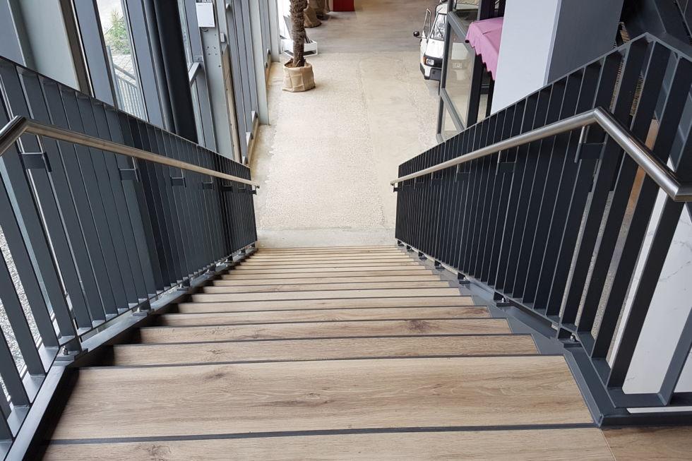 Schlosserei-Treppenkonstruktion Göppingen-Dehner