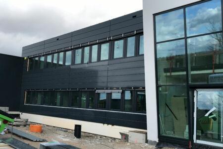 Schlüsselfertigbau-Salvia Schkeuditz-Neubau Produktionshalle