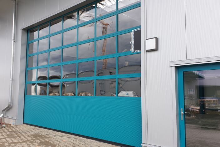 Schlüsselfertigbau-Neubau Lagerhalle-Nellingen-SF-Bau