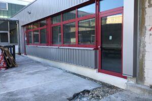 Schlüsselfertigbau-Anbau Kantine Eislingen-SF-Bau