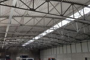 Industriebau-Neubau Halle Waiblingen-I-Bau