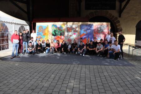 Stahlbau Nägele-Azubi Einführungswoche 2020-Graffiti Workshop