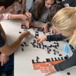 Stahlbau Nägele-Azubi Einführungswoche 2020-Parcour Puzzle