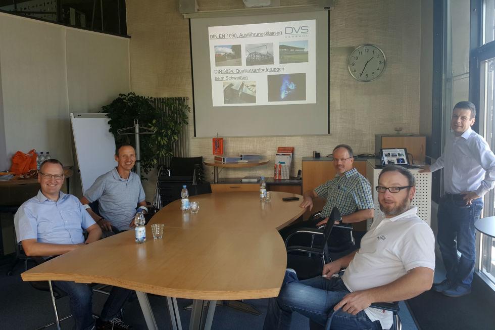 Lehrerfortlidung gewerbliche Schule Esslingen Thema Ausführungsklassen EXC 1 bis EXC 4