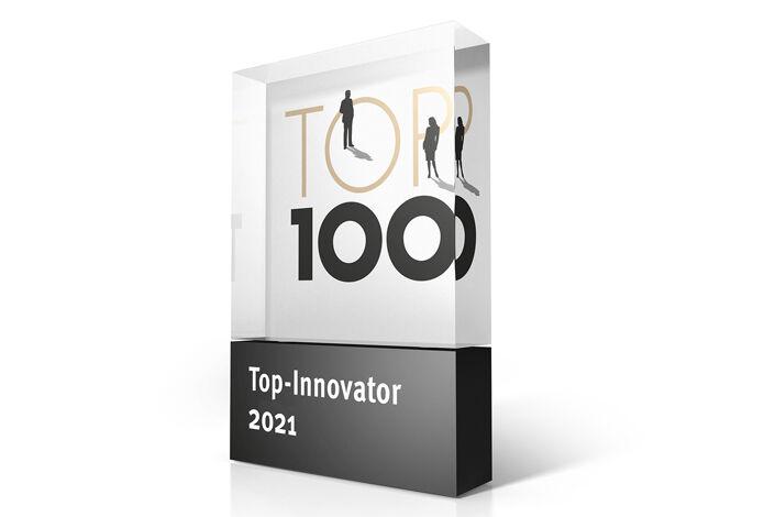 Auszeichnung TOP 100 Innovator-2021